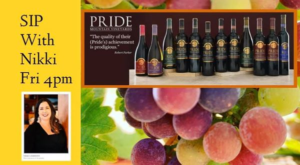 Pride Mountain Vineyards SIP with Nikki