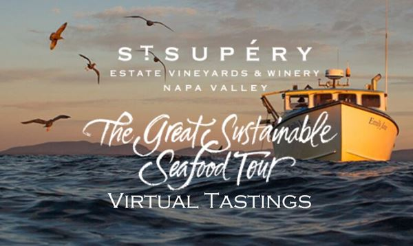 St. Supéry Great Sustainable Seafood Tour Virtual Wine Tasting
