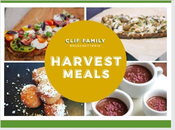 Clif Family Harvest Meals Now Available
