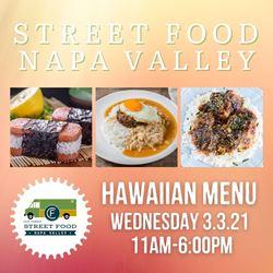 Upcoming Event - Clif Family Street Food Napa Valley: Hawaiian Menu