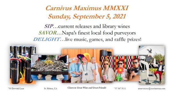 Upcoming Event - Carnivus Maximus