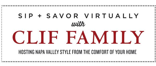 Sip + Savor Virtually with Clif Family Winery
