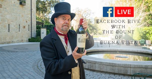 Taste of History with the Count of Buena Vista Every Wednesday, Thursday and Friday