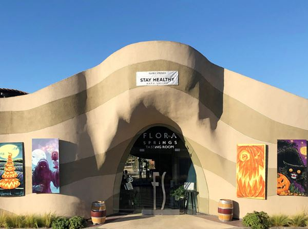 Napa Valley Fire Relief Halloween Dinner and Flora Springs Wines with Curbside Pickup
