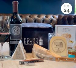Virtual Wine & Cheese Pairing with Priest Ranch and Point Reyes Cheese