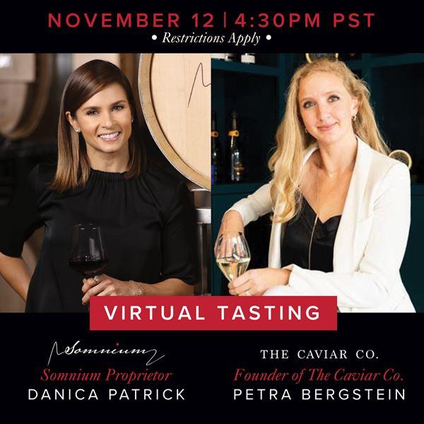 Upcoming Event - Wine & Caviar - Virtual Experience