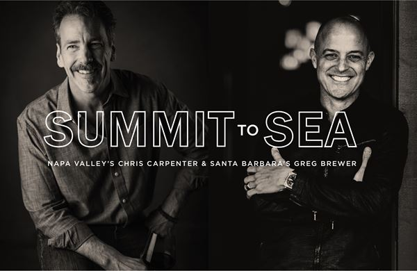 Summit to Sea Virtual Tasting with Winemakers Chris Carpenter & Greg Brewer