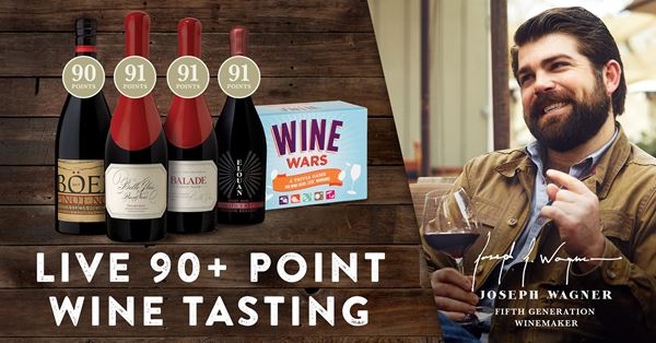 Wine Wars & 90+ Point Wines with Joseph Wagner