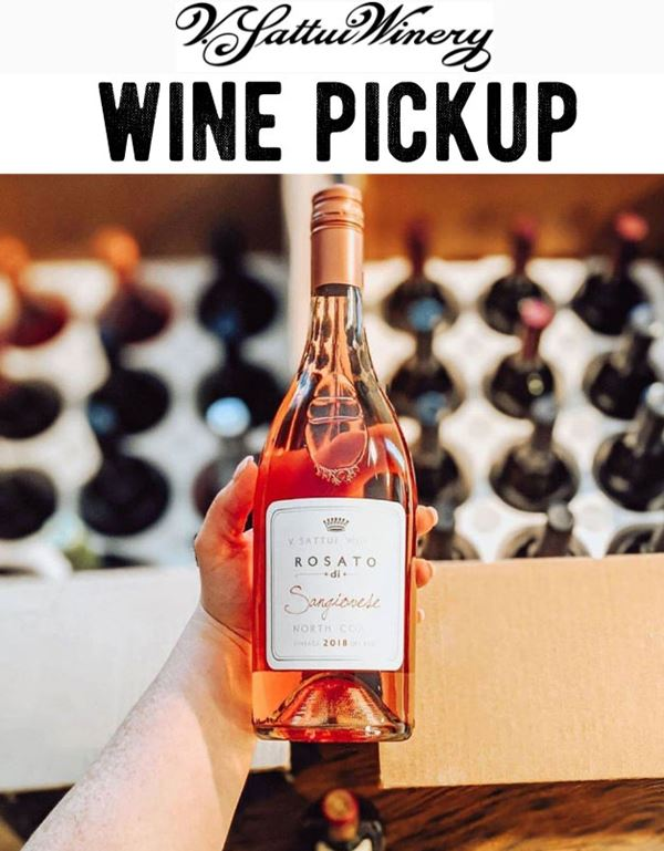 V. Sattui Wine and Food Pickup Available