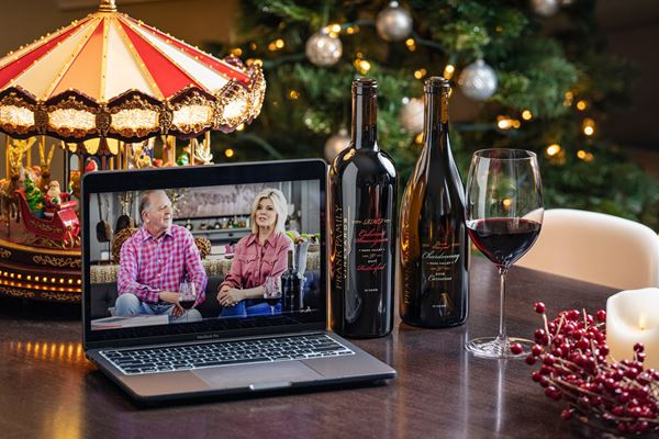 Frank Family Vineyards' Holiday Hosting Virtual Tasting