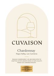 Label for Cuvaison Estate Wines