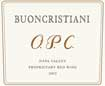 Label for Buoncristiani Family Winery