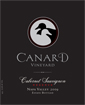 Label for Canard Vineyard