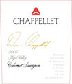 Label for Chappellet Vineyard