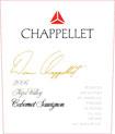 Label for Chappellet Vineyard
