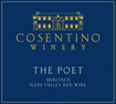 Label for Cosentino Winery