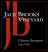 Label for Jack Brooks Vineyard
