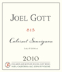 Label for Joel Gott Wines