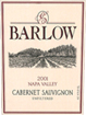 Label for Barlow Vineyards