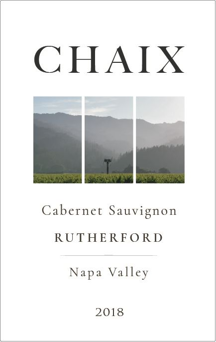 Label for Chaix Wines