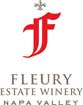 Label for Fleury Estate Winery