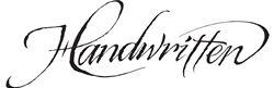 Label for Handwritten Wines