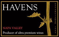 Label for Havens Winery