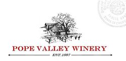 Label for Pope Valley Winery