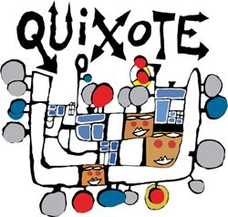 Label for Quixote Winery