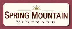 Label for Spring Mountain Vineyard