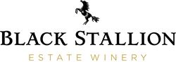 Label for Black Stallion Estate Winery