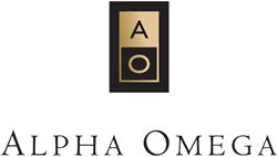 Label for Alpha Omega
