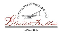 Label for David Fulton Winery