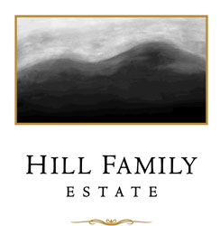 Label for Hill Family Estate