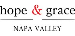 Label for hope & grace Winery