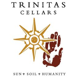 Label for Trinitas Cellars